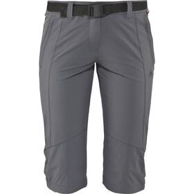 Maier Sports Kluane Pantalones 3/4 Mujer, gris